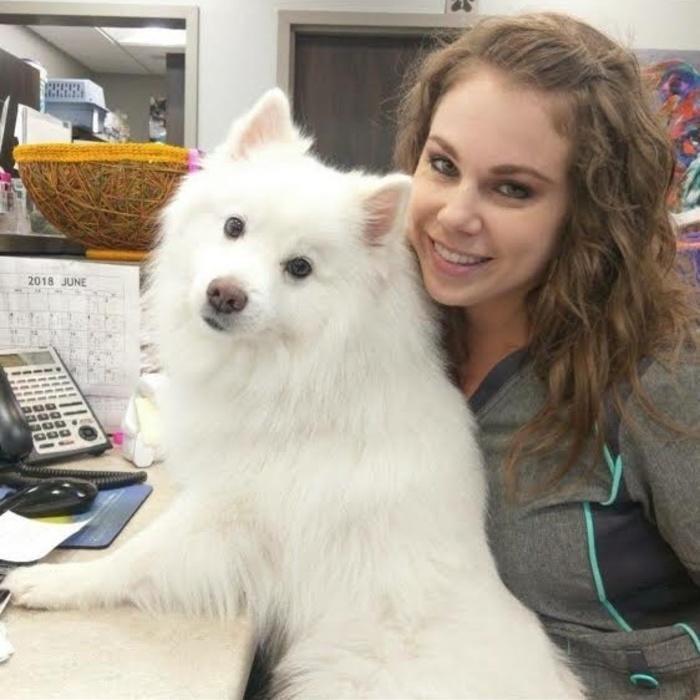 Britt Fabrello <br> Receptionist photo